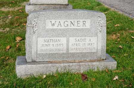 WAGNER, SADIE A. - Carroll County, Ohio | SADIE A. WAGNER - Ohio Gravestone Photos