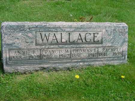 WALLACE, THOMAS R. - Carroll County, Ohio | THOMAS R. WALLACE - Ohio Gravestone Photos