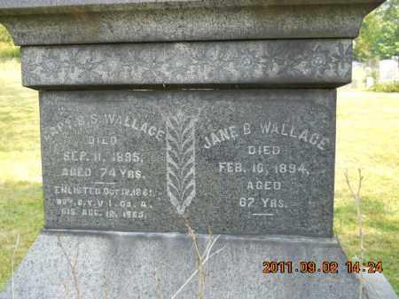 WALLACE, CAPT SYLVESTER S - Carroll County, Ohio | CAPT SYLVESTER S WALLACE - Ohio Gravestone Photos