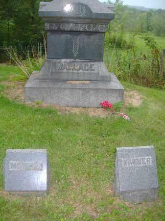 WALLACE, HEADSTONE - Carroll County, Ohio | HEADSTONE WALLACE - Ohio Gravestone Photos