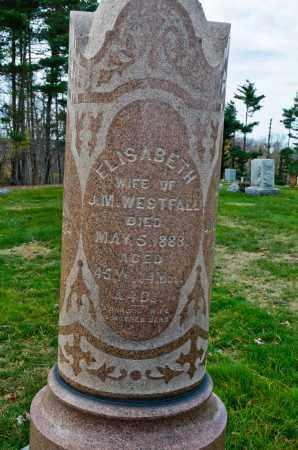 WESTFALL, ELIZABETH - Carroll County, Ohio   ELIZABETH WESTFALL - Ohio Gravestone Photos