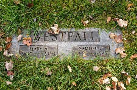 WESTFALL, MARY A. - Carroll County, Ohio | MARY A. WESTFALL - Ohio Gravestone Photos