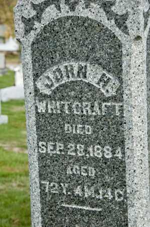 WHITCRAFT, JOHN H. - Carroll County, Ohio   JOHN H. WHITCRAFT - Ohio Gravestone Photos