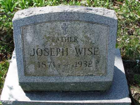 WISE, JOSEPH - Carroll County, Ohio | JOSEPH WISE - Ohio Gravestone Photos