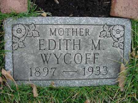 WYCOFF, EDITH - Carroll County, Ohio | EDITH WYCOFF - Ohio Gravestone Photos
