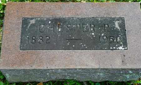 ABBOTT, CHESTER P. - Champaign County, Ohio   CHESTER P. ABBOTT - Ohio Gravestone Photos