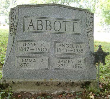 ABBOTT, JESSE M - Champaign County, Ohio | JESSE M ABBOTT - Ohio Gravestone Photos