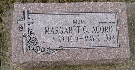 ACORD, MARGARET KAYTHRYN - Champaign County, Ohio   MARGARET KAYTHRYN ACORD - Ohio Gravestone Photos