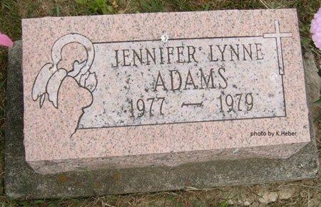 ADAMS, JENNIFER LYNNE - Champaign County, Ohio   JENNIFER LYNNE ADAMS - Ohio Gravestone Photos