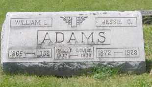 ADAMS, WILLIAM LONG - Champaign County, Ohio   WILLIAM LONG ADAMS - Ohio Gravestone Photos