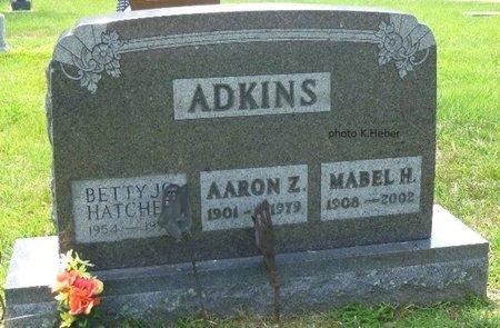 ADKINS, MABEL H - Champaign County, Ohio | MABEL H ADKINS - Ohio Gravestone Photos