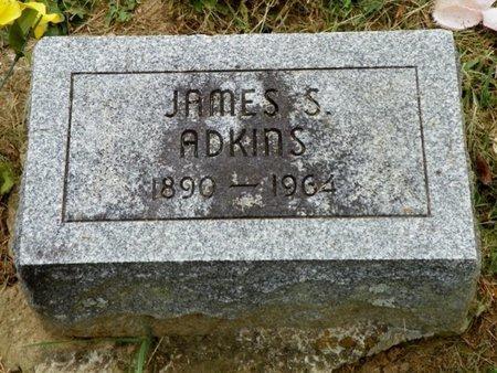 ADKINS, JAMES S. - Champaign County, Ohio | JAMES S. ADKINS - Ohio Gravestone Photos