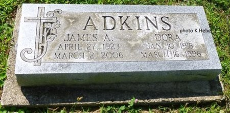 ADKINS, JR, JAMES ALBERT - Champaign County, Ohio | JAMES ALBERT ADKINS, JR - Ohio Gravestone Photos