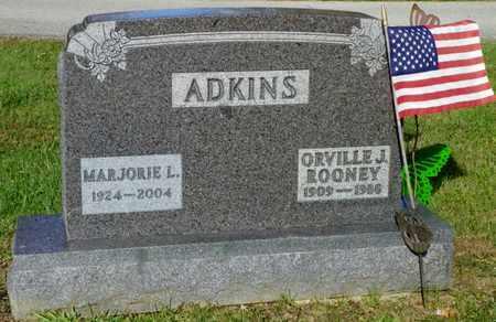 EVILSIZOR ADKINS, MARJORIE LEONA - Champaign County, Ohio | MARJORIE LEONA EVILSIZOR ADKINS - Ohio Gravestone Photos