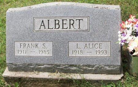 ALBERT, FRANK STEWART - Champaign County, Ohio | FRANK STEWART ALBERT - Ohio Gravestone Photos