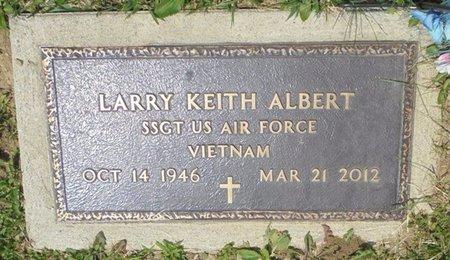ALBERT, LARRY KEITH - Champaign County, Ohio | LARRY KEITH ALBERT - Ohio Gravestone Photos