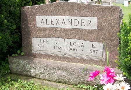ALEXANDER, LEE S - Champaign County, Ohio | LEE S ALEXANDER - Ohio Gravestone Photos
