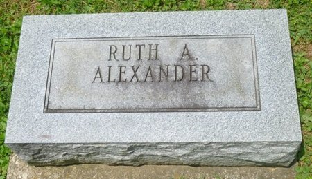 ALEXANDER, RUTH ANTOINETTE - Champaign County, Ohio   RUTH ANTOINETTE ALEXANDER - Ohio Gravestone Photos