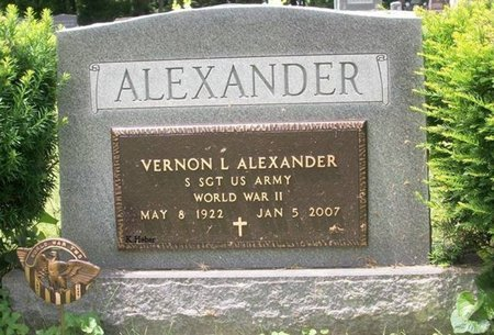 ALEXANDER, VERNON - Champaign County, Ohio | VERNON ALEXANDER - Ohio Gravestone Photos