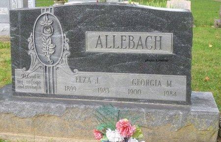 ALLEBACH, GEORGIA MELVINA - Champaign County, Ohio | GEORGIA MELVINA ALLEBACH - Ohio Gravestone Photos