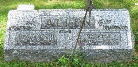 ALLEN, SARAH BELLE - Champaign County, Ohio   SARAH BELLE ALLEN - Ohio Gravestone Photos