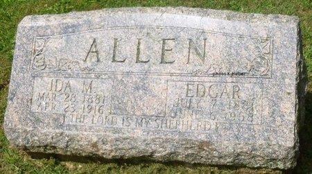 ALLEN, IDA MAY - Champaign County, Ohio   IDA MAY ALLEN - Ohio Gravestone Photos