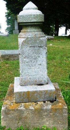 ALLEN, CHESTER A - Champaign County, Ohio | CHESTER A ALLEN - Ohio Gravestone Photos