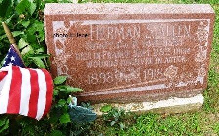ALLEN, HERMAN SAHEN - Champaign County, Ohio | HERMAN SAHEN ALLEN - Ohio Gravestone Photos