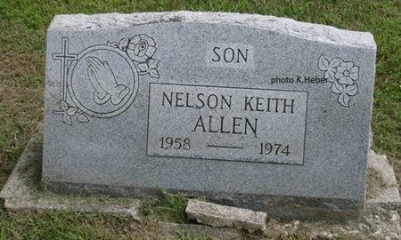ALLEN, NELSON KEITH - Champaign County, Ohio | NELSON KEITH ALLEN - Ohio Gravestone Photos