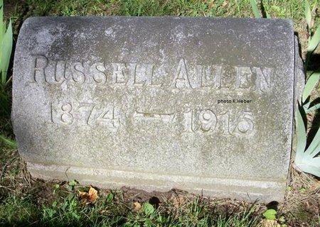 ALLEN, RUSSELL REID - Champaign County, Ohio | RUSSELL REID ALLEN - Ohio Gravestone Photos