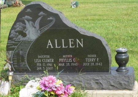 ALLEN, TERRY FORREST - Champaign County, Ohio | TERRY FORREST ALLEN - Ohio Gravestone Photos
