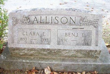 ALLISON, CLARA ELLEN - Champaign County, Ohio   CLARA ELLEN ALLISON - Ohio Gravestone Photos