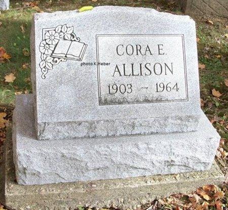 ALLISON, CORA ETHEL - Champaign County, Ohio | CORA ETHEL ALLISON - Ohio Gravestone Photos