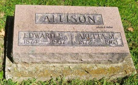 ALLISON, EDWARD EVERLY - Champaign County, Ohio | EDWARD EVERLY ALLISON - Ohio Gravestone Photos