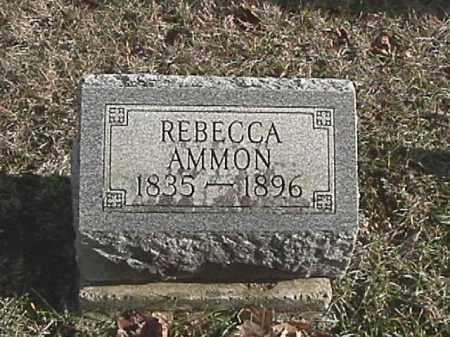 AMMON, REBECCA - Champaign County, Ohio | REBECCA AMMON - Ohio Gravestone Photos