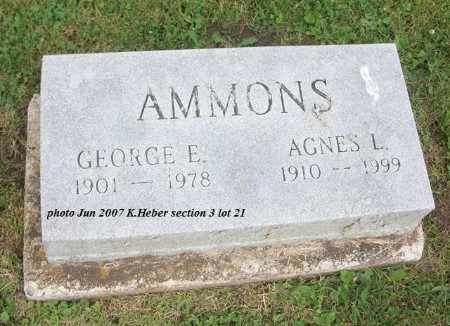 AMMONS, AGNES LUCILLE - Champaign County, Ohio | AGNES LUCILLE AMMONS - Ohio Gravestone Photos