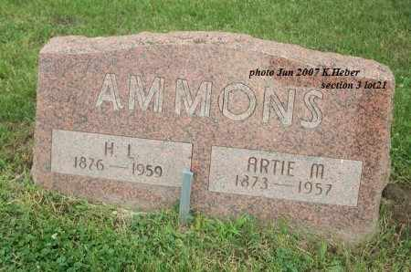 AMMONS, ARTIE MAY - Champaign County, Ohio | ARTIE MAY AMMONS - Ohio Gravestone Photos