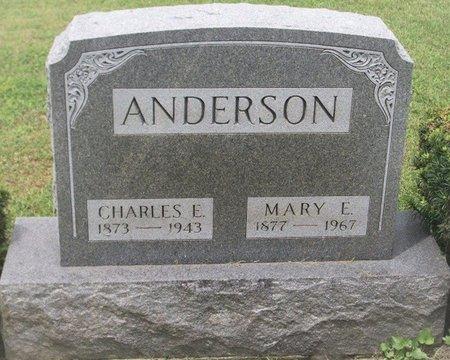 ANDERSON, MARY ELIZABETH - Champaign County, Ohio | MARY ELIZABETH ANDERSON - Ohio Gravestone Photos