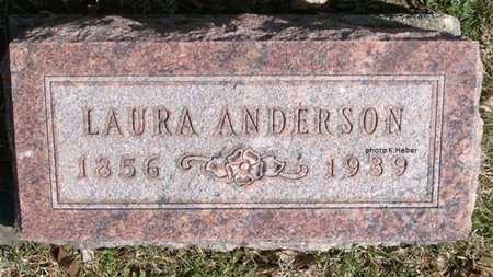 ANDERSON, LAURA B - Champaign County, Ohio | LAURA B ANDERSON - Ohio Gravestone Photos
