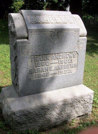 ANDREWS, FRANK - Champaign County, Ohio | FRANK ANDREWS - Ohio Gravestone Photos