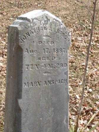 ANSPAGH, MARY - Champaign County, Ohio | MARY ANSPAGH - Ohio Gravestone Photos