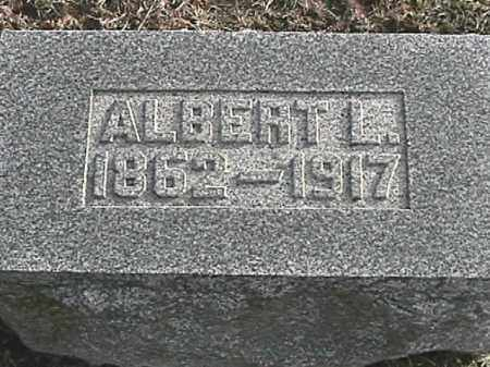 APPLE, ALBERT L. - Champaign County, Ohio   ALBERT L. APPLE - Ohio Gravestone Photos