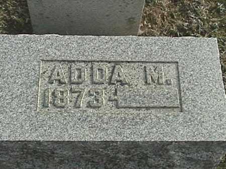 APPLE, ADDA M - Champaign County, Ohio | ADDA M APPLE - Ohio Gravestone Photos
