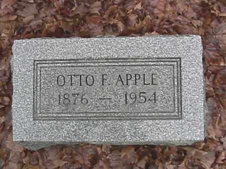 APPLE, OTTO FRANKLIN - Champaign County, Ohio | OTTO FRANKLIN APPLE - Ohio Gravestone Photos