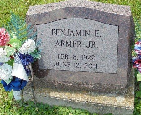 ARMER, JR, BENJAMIN EUGENE - Champaign County, Ohio | BENJAMIN EUGENE ARMER, JR - Ohio Gravestone Photos