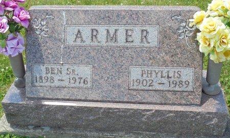 ARMER, PHYLLIS MAE - Champaign County, Ohio   PHYLLIS MAE ARMER - Ohio Gravestone Photos