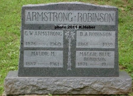 ARMSTRONG, GEORGE WHEELER - Champaign County, Ohio | GEORGE WHEELER ARMSTRONG - Ohio Gravestone Photos