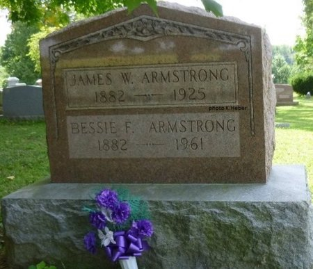 ARMSTRONG, JAMES WHITMORE - Champaign County, Ohio   JAMES WHITMORE ARMSTRONG - Ohio Gravestone Photos