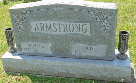 ARMSTRONG, LOUISE - Champaign County, Ohio | LOUISE ARMSTRONG - Ohio Gravestone Photos