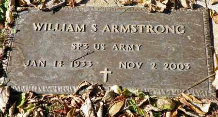 ARMSTRONG, WILLIAM S. - Champaign County, Ohio | WILLIAM S. ARMSTRONG - Ohio Gravestone Photos
